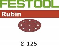 Шлифовальные круги Rubin, STF D125/90 P150 RU2/50, Festool 100tool.ru