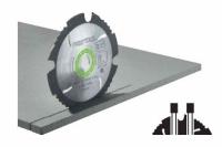 Пильный диск с алмазным зубом Festool, Фестул,  160x2,2x20 DIA4