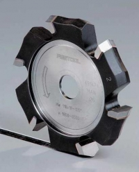 Пазовая V-образная дисковая фреза Festool Фестул HW 118x14-90°/Alu