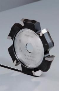Пазовая V-образная дисковая фреза Festool Фестул HW 118x18-135°/Alu