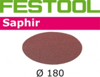 Шлифовальные круги Festool Фестул Saphir, STF D180/0 P80 SA/25