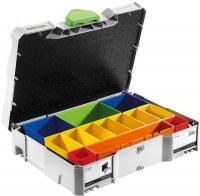 Систейнер Festool Фестул с отдельными сменными пластиковыми контейнерами, SYS 1 box