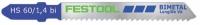 Пильное полотно Festool фестул HS 60/1,4 BI VA/5