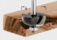 Фреза Festool Фестул HW S8 D38,1/R12,7 KL для выборки желобка, хвостовик 8 мм
