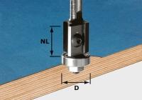 Фреза Festool Фестул HW S8 D19/20WM Z2 для обработки кромок со сменными ножами, хвостовик 8 мм