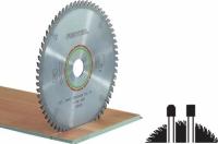 Специальный пильный диск Festool Фестул 160x2,2x20 TF48 для ламината и искусственного камня