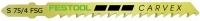 Пильное полотно Festool фестул S 75/4 FSG 5X