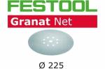Шлифовальный материал на сетчатой основе STF D225 P80 GR NET/25,