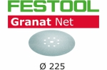 Шлифовальный материал на сетчатой основе STF D225 P120 GR NET/25, Festool Фестул