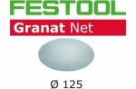 Шлифовальный материал Festool на сетчатой основе STF D125 P80 GR NET/50