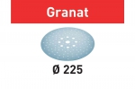 Шлифовальные круги Granat, STF D225/128 P80 GR/25, Festool Фестул