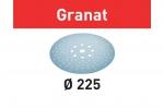 Шлифовальные круги Granat, STF D225/128 P320 GR/25, Festool Фестул
