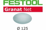 Шлифовальный материал на сетчатой основе STF D125 P100 GR NET/50, Festool Фестул