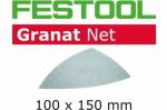 Шлифовальный материал Festool на сетчатой основе STF DELTA P150 GR NET/50