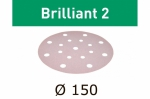 Шлифовальные круги Brilliant 2 STF D150/16 P220 BR2/100, Festool Фестул