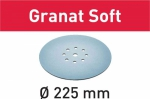 Шлифовальные круги STF D225 P180 GR S/25 Granat Soft, Festool Фестул