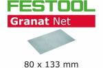 Шлифовальный материал Festool на сетчатой основе STF 80x133 P80 GR NET/50
