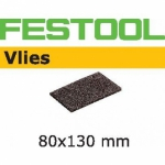 Шлифовальные полоски Vlies, STF 80x130/0 S800 VL/5, Festool Фестул