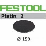 Шлифовальные круги Platin 2 StickFix Ø150 мм, STF D150/0 S2000 PL2/15, Festool Фестул