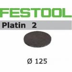 Шлифовальные круги Festool Platin 2, STF D125/0 S500 PL2/15