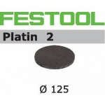 Шлифовальные круги Festool Platin 2, STF D125/0 S4000 PL2/15