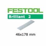 Шлифовальные листы Festool, STF 46x178/0 P180 BR2/10