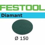 Шлифовальные круги Festool Diamant StickFix Ø150 мм, STF D150/0 D1000 DI/2