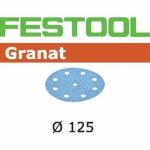 Шлифовальные круги Granat, STF D125/90 P220 GR/100, Festool Фестул