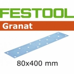 Шлифовальные полоски Granat, STF 80x400 P180 GR/50, Festool Фестул