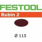 Шлифовальные круги Festool Rubin 2, STF D115 P80 RU2/50