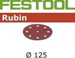 Шлифовальные круги Rubin, STF D125/90 P150 RU2/50, Festool Фестул