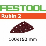 Шлифовальные листы Festool Rubin 2, STF DELTA/7 P80 RU2/50