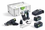 Аккумуляторный шуруповёрт для гипсокартона DURADRIVE DWC 18-2500 Li 5,2-Plus, Festool Фестул