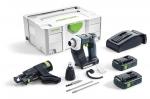 Аккумуляторный шуруповёрт Festool Фестул для гипсокартона DURADRIVE DWC 18-2500 Li 3,1-Compact