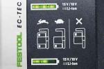 Аккумуляторная погружная пила Festool TSC 55 Li 5,2 REBI-Plus/XL-SCA 100tool.ru