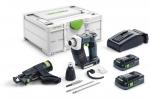 Аккумуляторный шуруповёрт для гипсокартона DURADRIVE DWC 18-2500 HPC 4,0 I-Plus, Festool Фестул