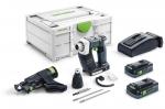Аккумуляторный шуруповёрт для гипсокартона DURADRIVE DWC 18-4500 HPC 4,0 I-Plus, Festool Фестул