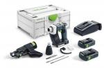 Аккумуляторный шуруповёрт для гипсокартона DURADRIVE DWC 18-4500 C 3,1-Plus, Festool Фестул