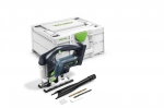 Аккумуляторный маятниковый лобзик CARVEX PSBC 420 EB-Basic, Festool Фестул