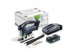 Аккумуляторный маятниковый лобзик CARVEX PSBC 420 HPC 4,0 EBI-Plus, Festool Фестул