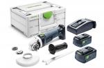Аккумуляторная углошлифовальная машинка  AGC 18-125 Li 5,2 EB-Plus Festool Фестул