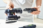 Аккумуляторная эксцентриковая шлифовальная машинка ETSC 125 Li-Basic