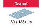 Шлифовальные полоски Granat, STF 80x133 P60 GR/50, Festool Фестул