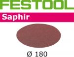 Шлифовальные круги Festool Saphir, STF D180/0 P80 SA/25