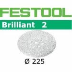 Шлифовальные круги Festool Brilliant 2, STF D225/8 P16 BR2/25