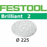 Шлифовальные круги Festool Brilliant 2, STF D225/8 P60 BR2/25