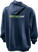 Пуловер Festool Фестул с капюшоном. Размер XL
