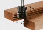 Фреза Festool HW S8 D34/NL32 для сращивания, хвостовик 8 мм