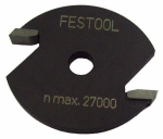 Пазовая дисковая фреза HW D40x2,5, Festool Фестул