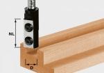 Пазовая фреза Festool HW S8 D10/25 WP Z1 со сменными ножами, хвостовик 8 мм